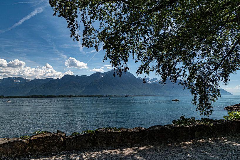 Meer van Genève, Zwitserland van Ingrid Aanen