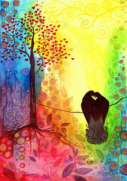 Ich liebe Dich! von Sandra Riedel ( SaRidie-arts)