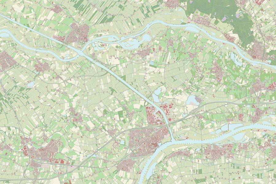 Kaart vanBuren