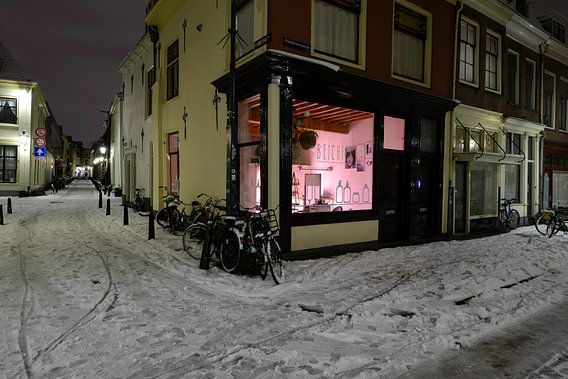 Kapsalon Beichies aan de Predikherenstraat in Utrecht