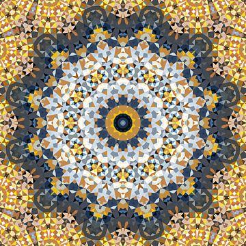 Mandala Muster 10 von Marion Tenbergen