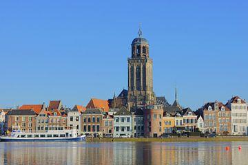 Stadsgezicht Deventer von Michel van Kooten