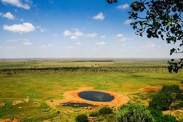 Keniaans uitzicht van Leon Weggelaar