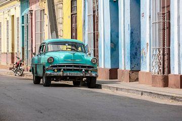Groene Chevrolet in Trinidad van Tilo Grellmann | Photography