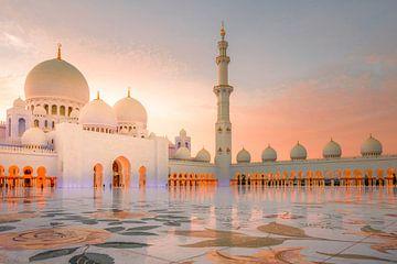 Sjeik Zayed moskee van Antwan Janssen