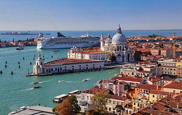 Venetië gezien vanaf de San Marco klokkentoren van Jan Kranendonk