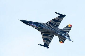 F-16 Fighting Falcon onderste boven van Wim Stolwerk