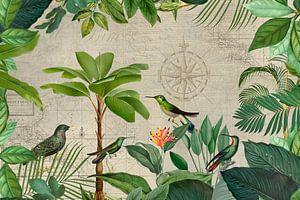 Nostalgische Reise der Vögel