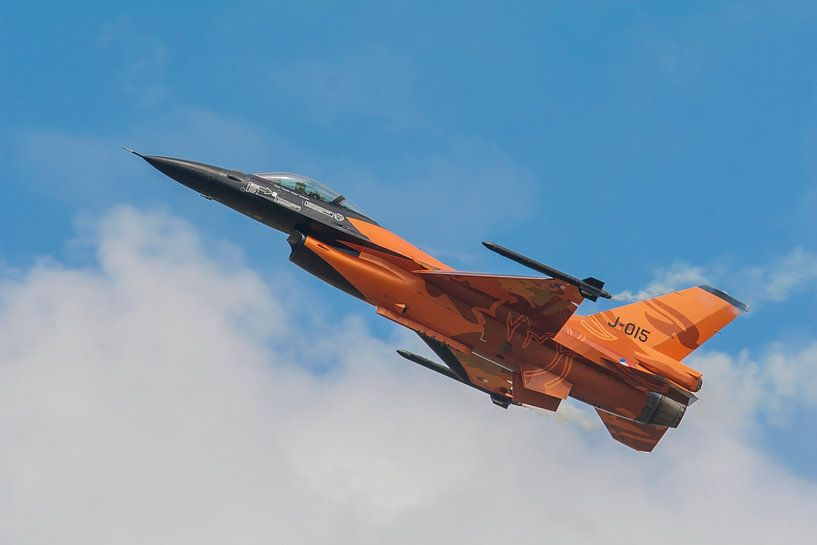 F16 demo toestel fighting falcon van Erwin Stevens