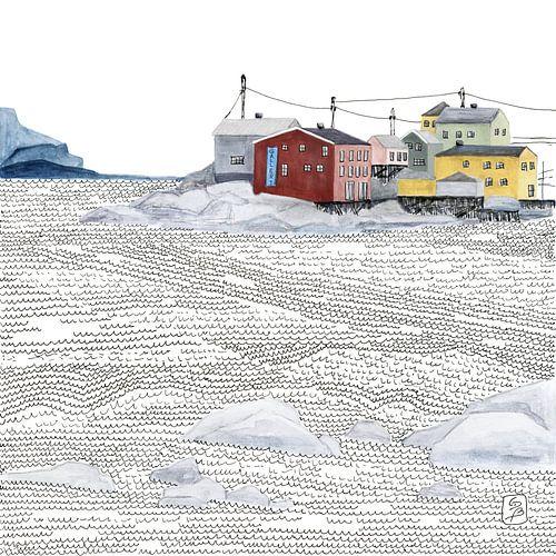 Noors vissersdorp Nyksund