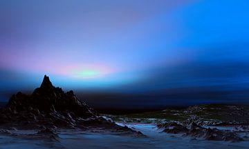 Blaue Nacht von Angel Estevez