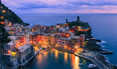 Vernazza is one of the five towns that make up the Cinque Terre