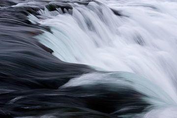 Faxifoss IJsland von Miranda Bos