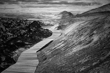 Volg het pad sur Mds foto