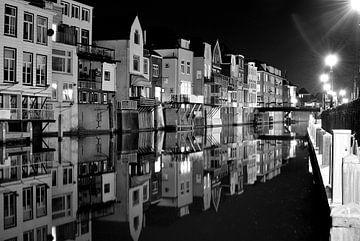Gorinchem by Night van Henri van den Berg