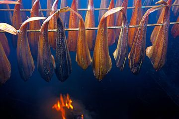 Vis roken van Jan Brons