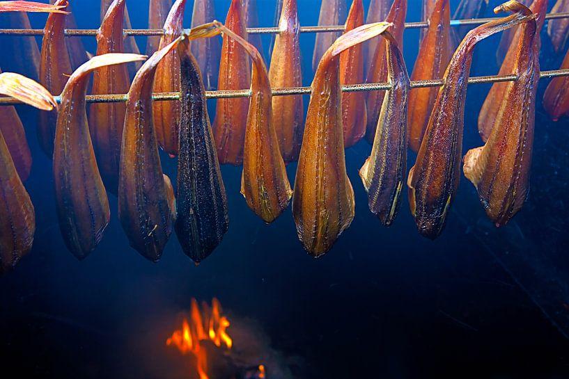 Fisch Rauchen sur Jan Brons