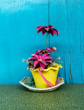 Een bloemetje van Ubo Pakes