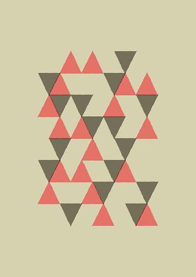 Triangles 1 van Rene Hamann