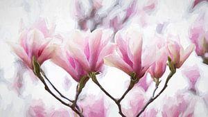 Magnolia schilderachtig van Francis Dost