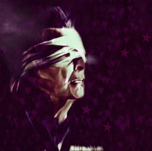 The End David Bowie class Pop Art PUR Serie NO.11