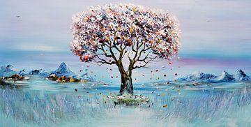 Geluksboom von Gena Theheartofart