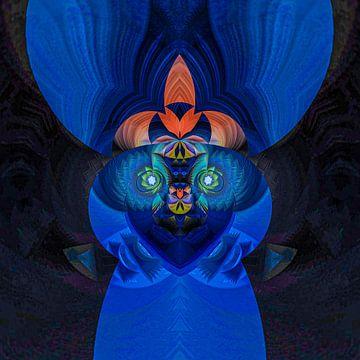 Fantasierijke abstracte twirlillustratie 131/2 van PICTURES MAKE MOMENTS