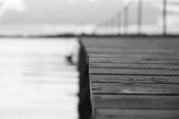 Steiger in zwart wit van JMP Fotografie