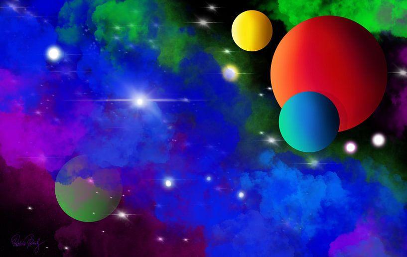 Kosmos - Die blaue Galaxie von Patricia Piotrak