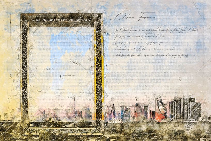 Dubai Frame, Dubai von Theodor Decker