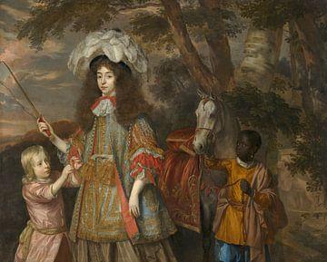 Porträt von Maria von Orange, Jan Mijtens