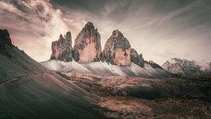 Die Drei Zinnen im Abendlicht - Tre Cime de Lavaredo