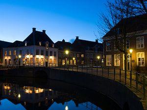 Amersfoort bij nacht van Richard van den Brink