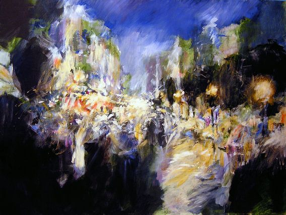 Tango Nocturno van Mirso Bajramovic