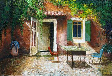 Französischer Patio von Trevor Neal