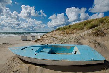 Het bootje bij Paal 9 van Wim van der Geest