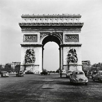 De Arc de Triomphe  in Parijs von Hollandse Hoogte