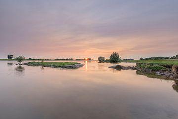 Colouring river von Jan Koppelaar