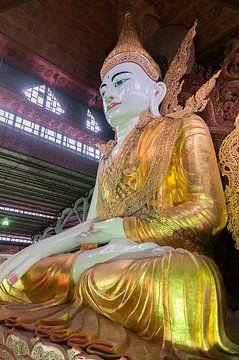 Yangon: Nga Htat Gyi pagode van Maarten Verhees