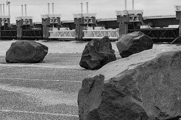 Neeltje Jans waterbeheer windturbines van Truckpowerr