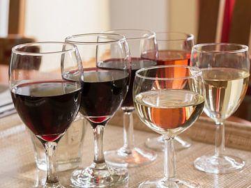 Wijnglazen van Ronald Smits