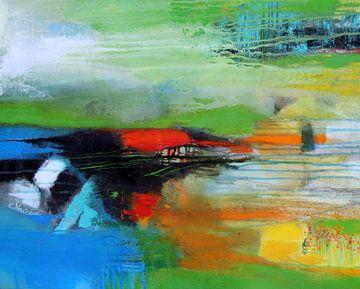 Frühling am See von Claudia Neubauer