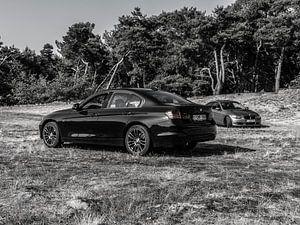 zwart wit f30 en e92 van Esben Vansweevelt