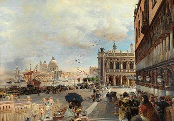Oswald Achenbach. Venetië