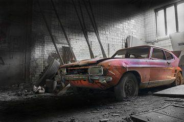 Verlaten mijn / oude auto's Ford capri van Ivanovic Arndts