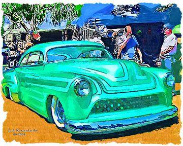 Chevrolet Low Rider Fastback 1951 von Natasja Tollenaar