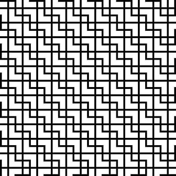 Permutation | ID=09 | V=12-01-1 | 1:1 | 12x12 von Gerhard Haberern