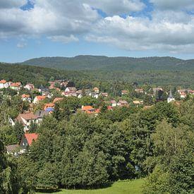 Spa Bad Sachsa dans les montagnes du Harz sur Peter Eckert