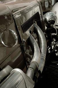 Mooie auto tijdens de Mille Miglia