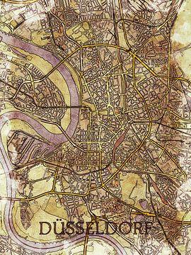 Düsseldorf van Printed Artings